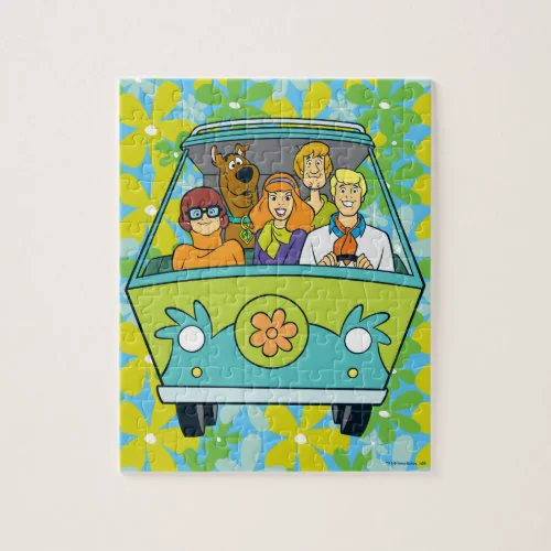 Scooby-Doo & The Gang Mystery Machine Jigsaw Puzzle
