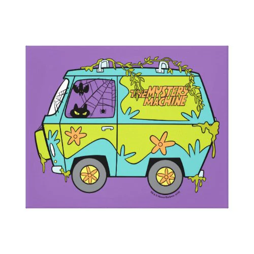 Scooby-Doo | The Mystery Machine Canvas Print
