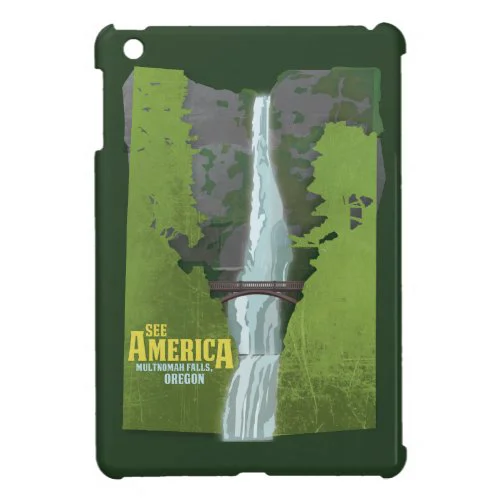 Multnomah Falls, Lewis & Clark Trail Cover For The iPad Mini