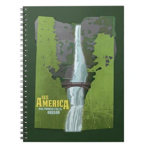 Multnomah Falls, Lewis & Clark Trail Notebook