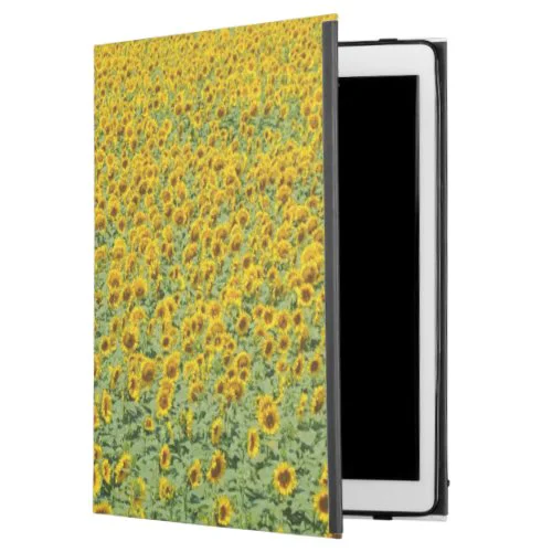 "Yellow Sunflower Field iPad Pro 12.9"" Case"