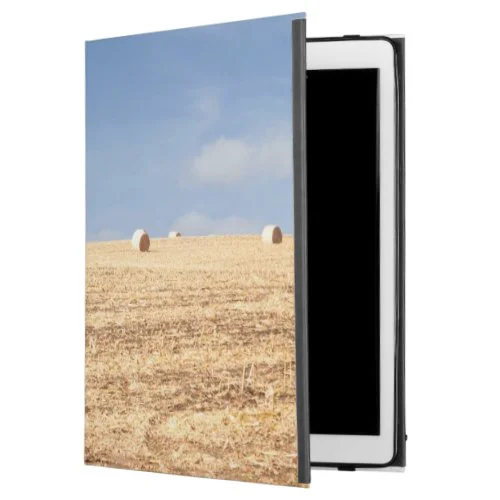 "Hay Bales on Field iPad Pro 12.9"" Case"