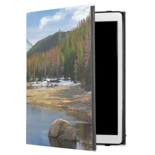 "Winding Colorado River With Mountains and Pines iPad Pro 12.9"" Case"