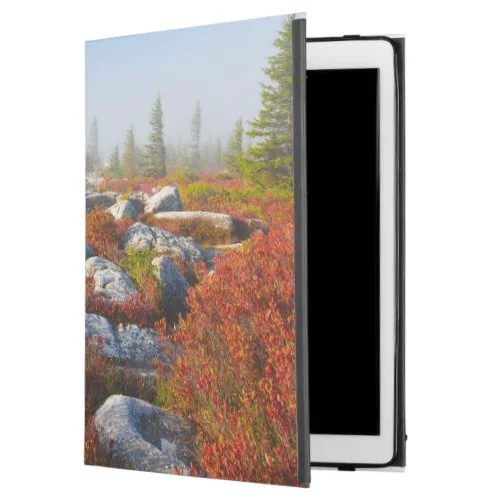 "Dolly Sods Wilderness Fall Scenic With Fog iPad Pro 12.9"" Case"