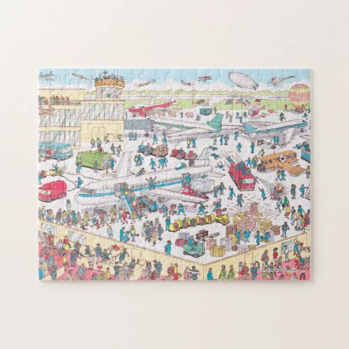 Where's Waldo | Airport Jigsaw Puzzle