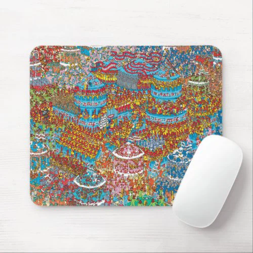 Where's Waldo | Battle of the Bands Mouse Pad