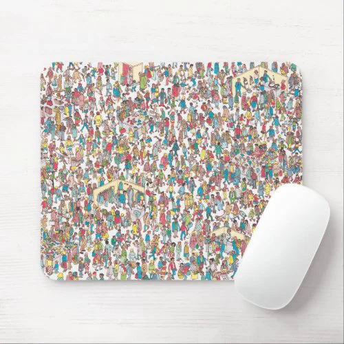 Where's Waldo | Department Store Mouse Pad