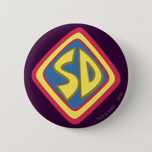 "Scooby-Doo ""SD"" Icon Button"