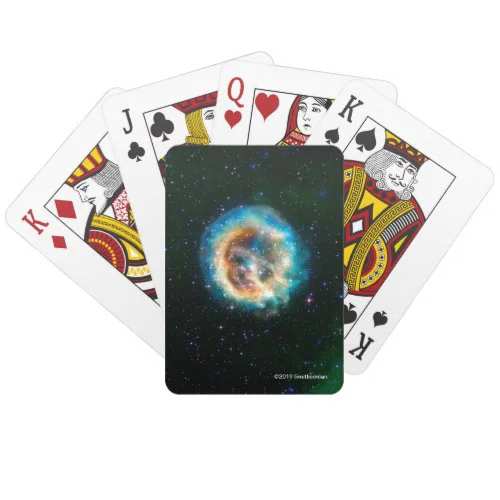 E0102, Adding a New Dimension to an Old Explosion Playing Cards