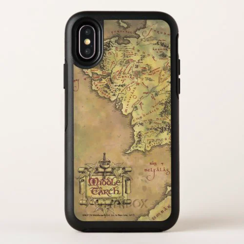 MIDDLE EARTH™ Map OtterBox Symmetry iPhone X Case