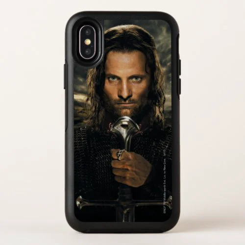 Aragorn Sword Down OtterBox Symmetry iPhone X Case