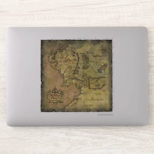 MIDDLE EARTH™ Map Sticker