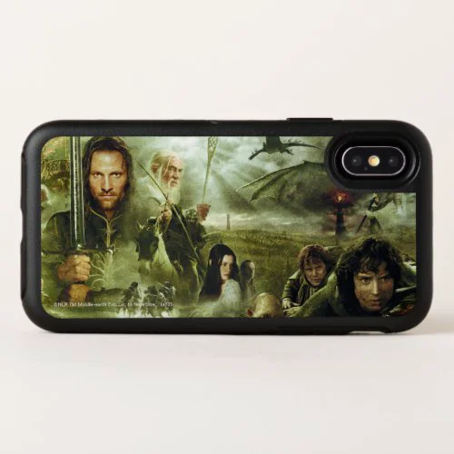 LOTR Movie Poster Art OtterBox Symmetry iPhone X Case