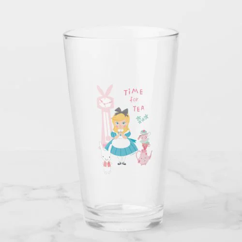 Alice In Wonderland | Time For Tea Glass