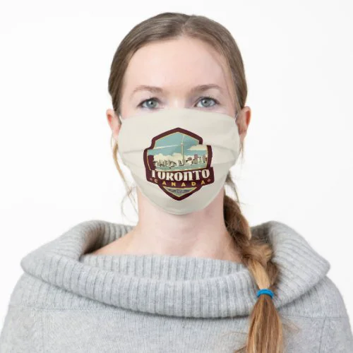 Toronto, Canada Adult Cloth Face Mask