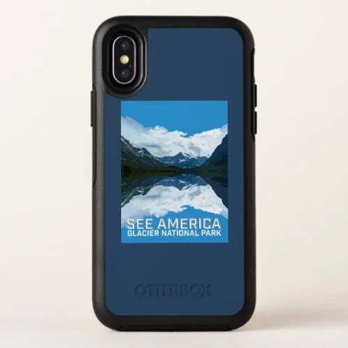 Glacier National Park OtterBox Symmetry iPhone X Case