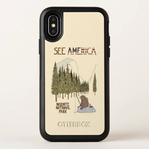 Yosemite National Park 2 OtterBox Symmetry iPhone X Case