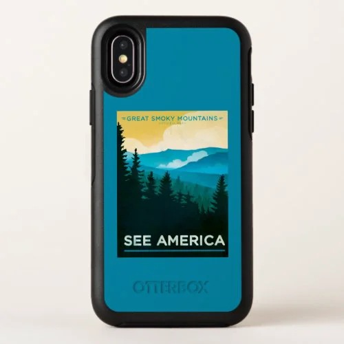 Great Smoky Mountains National Park OtterBox Symmetry iPhone X Case