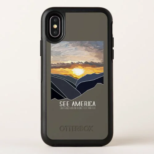 Santa Monica Mountains National Recreation Area OtterBox Symmetry iPhone X Case