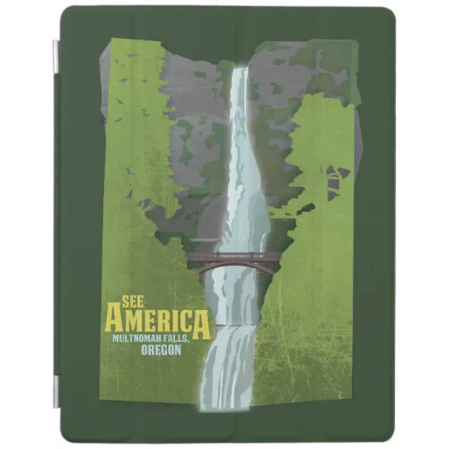 Multnomah Falls, Lewis & Clark Trail iPad Smart Cover