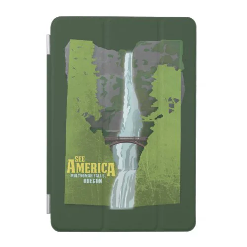 Multnomah Falls, Lewis & Clark Trail iPad Mini Cover