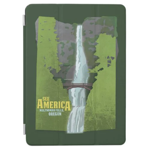 Multnomah Falls, Lewis & Clark Trail iPad Air Cover