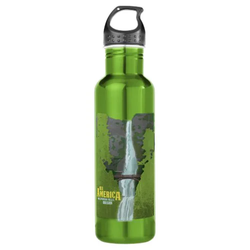 Multnomah Falls, Lewis & Clark Trail Water Bottle