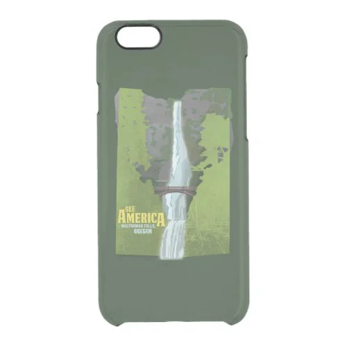 Multnomah Falls, Lewis & Clark Trail Clear iPhone 6/6S Case