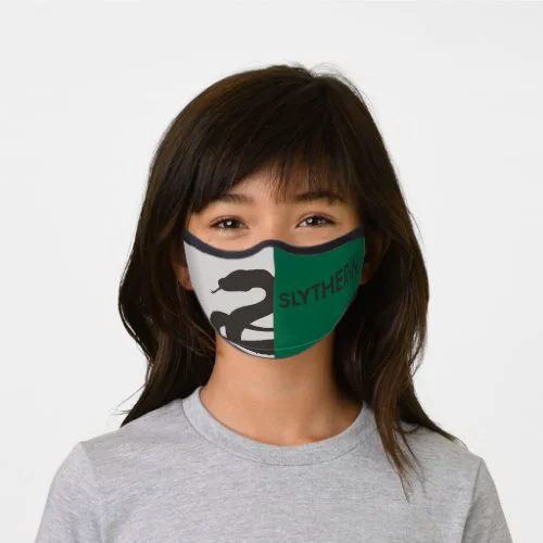 Harry Potter | Slytherin House Pride Graphic Premium Face Mask