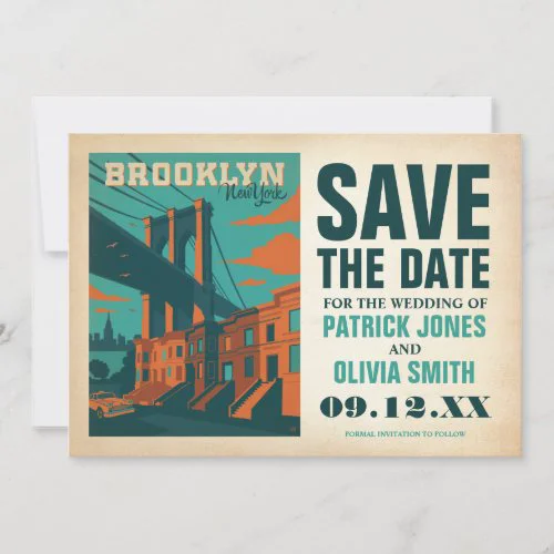 Save the Date | Brooklyn, NY