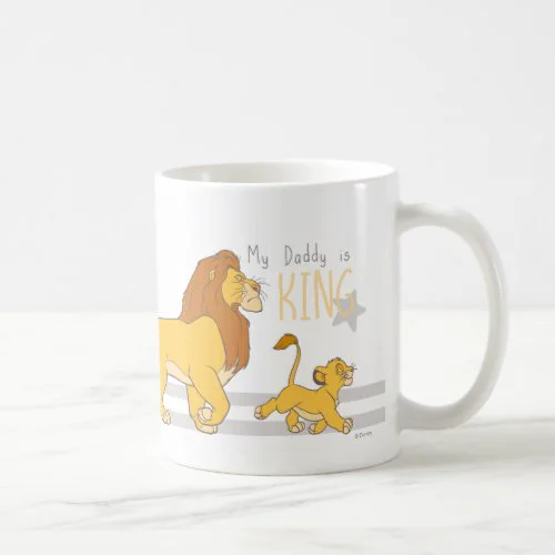 My Daddy Is King Photo Mug