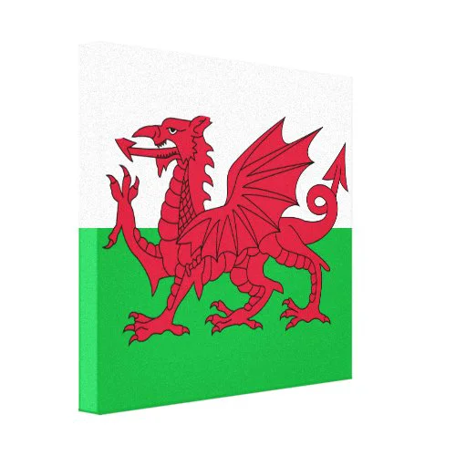 Welsh Flag Canvas Print