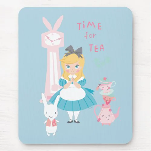 Alice In Wonderland | Time For Tea Mouse Pad