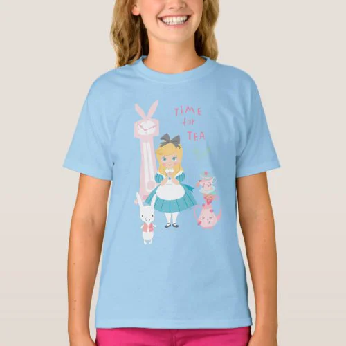 Alice In Wonderland | Time For Tea T-Shirt