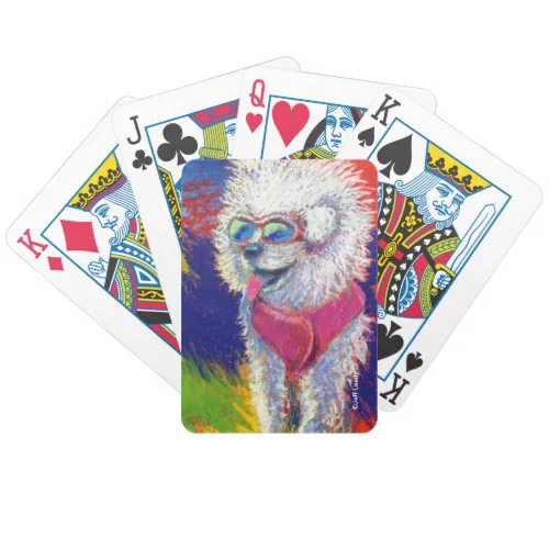 Jeff Leedy | Traveling Fuzzy Dude Bicycle Playing Cards