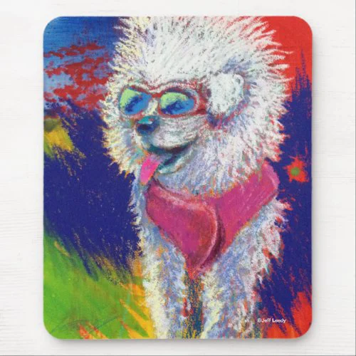 Jeff Leedy | Traveling Fuzzy Dude Mouse Pad
