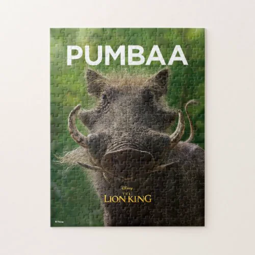 Lion King | Pumbaa Jigsaw Puzzle