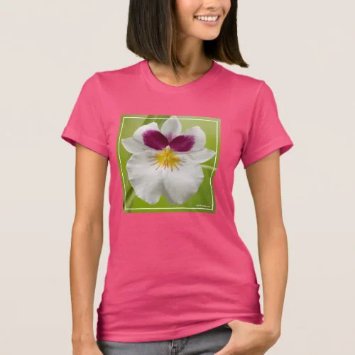 Miltoniopsis Roezlii (Pansy Orchids) T-Shirt