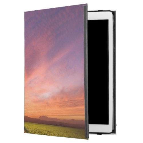 "Brilliant Sunset Over Farmland iPad Pro 12.9"" Case"